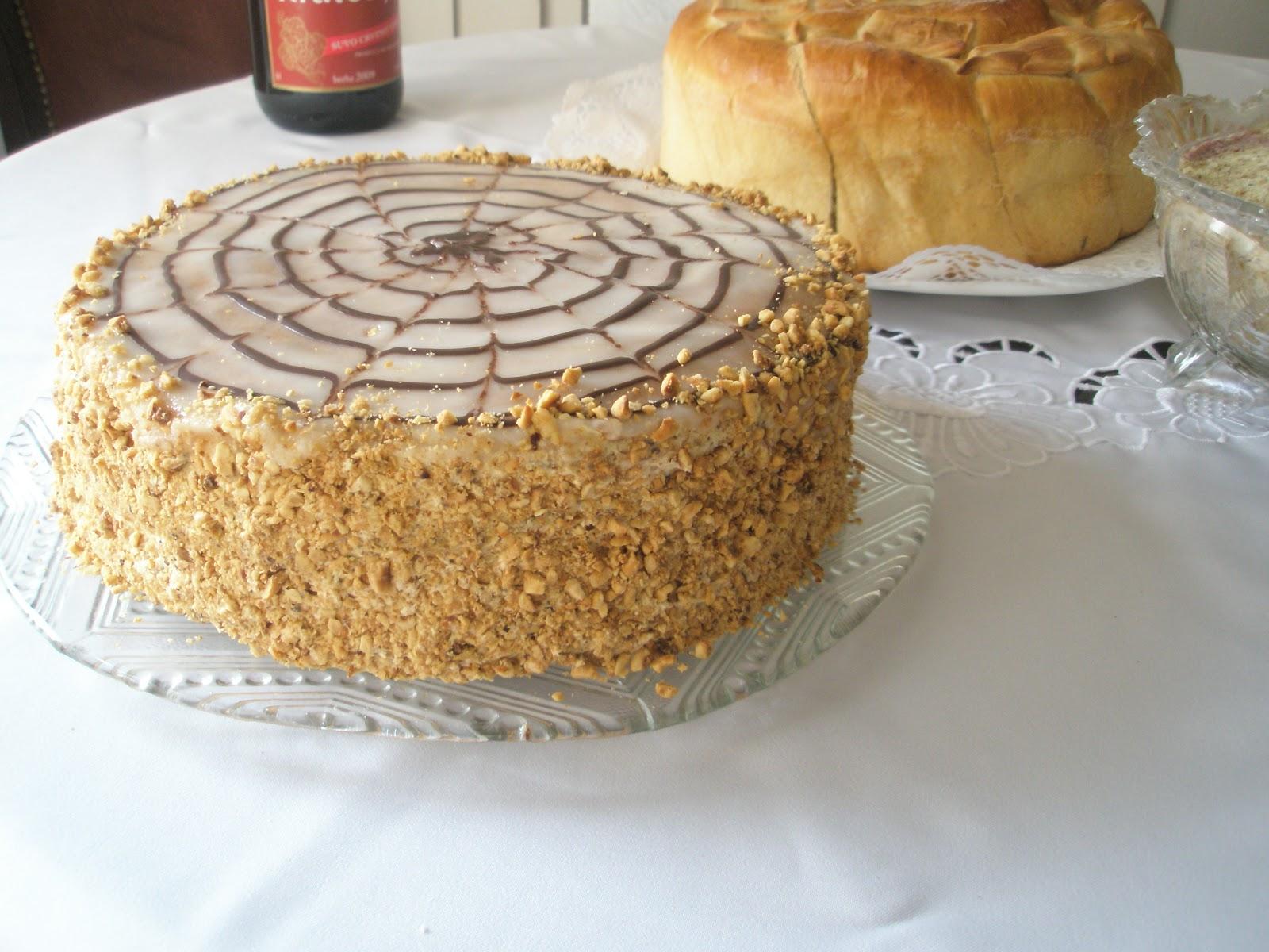 Esterhazi torta, po Jeleninom receptu