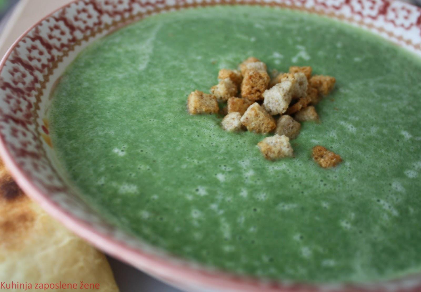 Čorba sa brokolijem i prazilukom