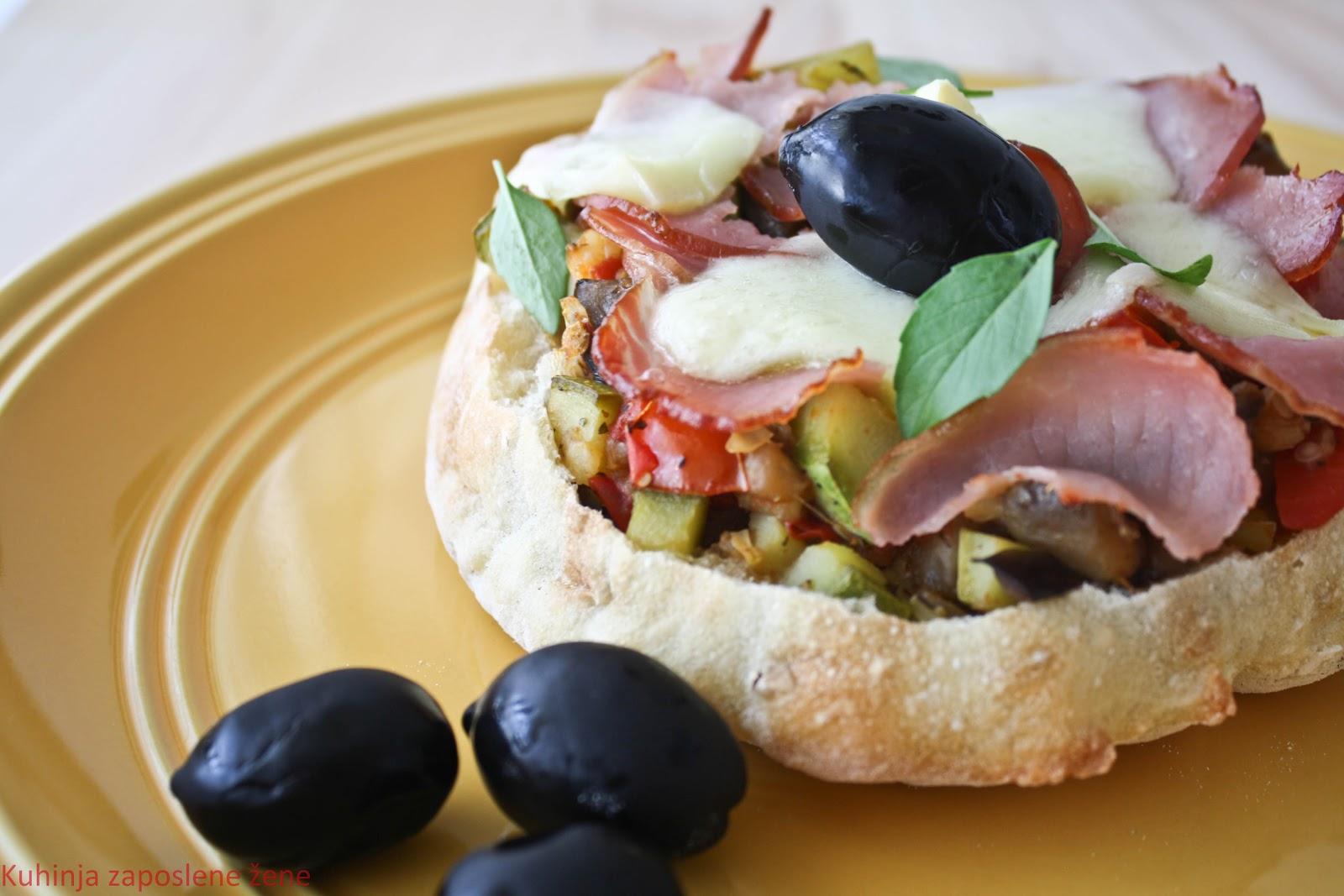 Topli sendviči sa povrćem