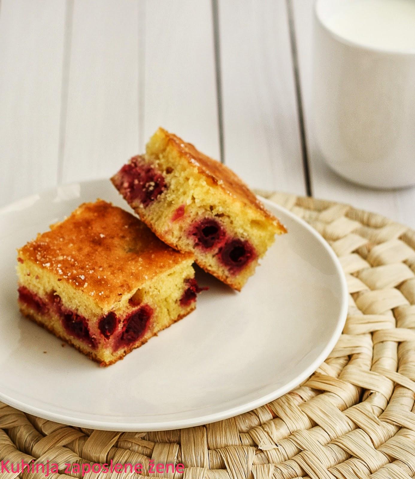 Micin kolač sa voćem / Simple fruit cake