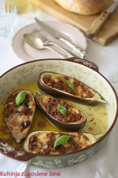 Punjeni patlidžan / Stuffed eggplants