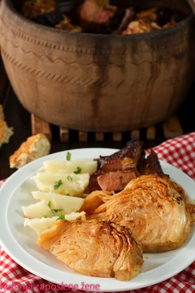 Svadbarski kupus / Traditional sour cabbage