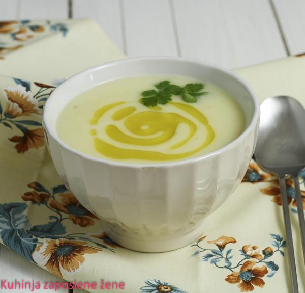 Čorba od paškanata sa đumbirom / Parsnip soup with ginger