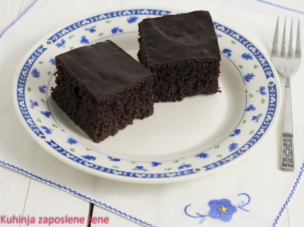 Čokoladni koh / Moist chocolate cake