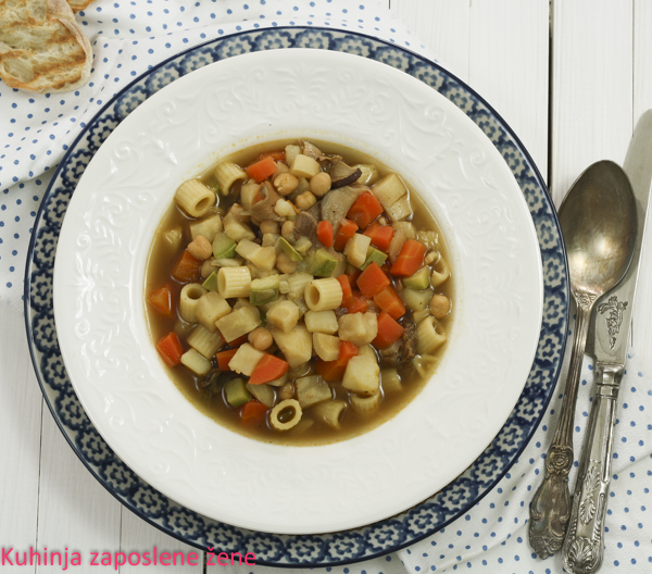 Minestrone supa / Minestrone soup