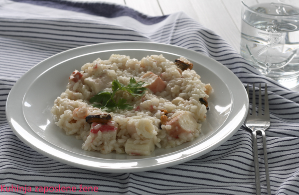 Rižoto sa morskim plodovima / Risotto with seafood