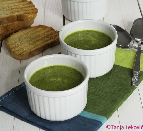 Čorba od sremuša / Wild garlic soup
