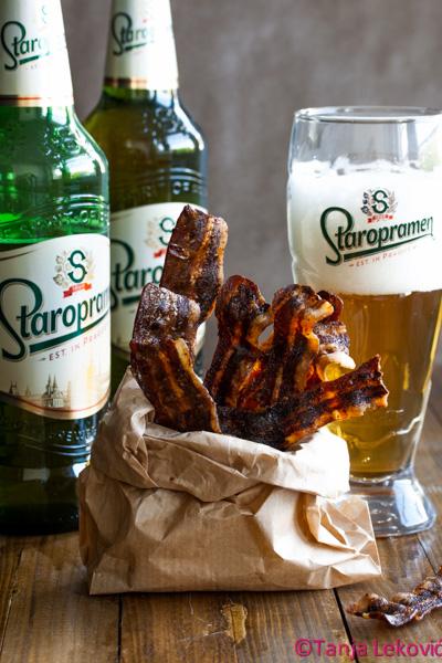 Kandirana slanina i Staropramen Bloggers Challenge II / Candied bacon