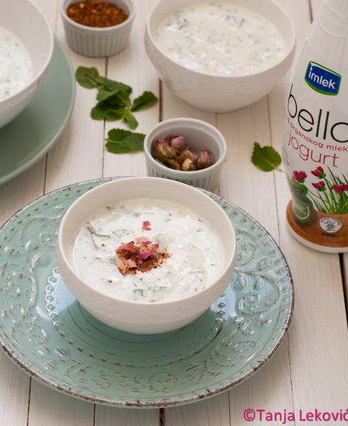 Hladna jogurt čorba / Cold yogurt soup