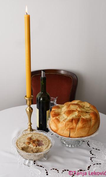 Slavsko žito (žito sa šlagom) / Traditional wheat
