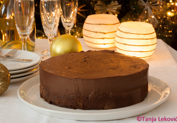 Čokoladna mus torta / Chocolate mousse cake
