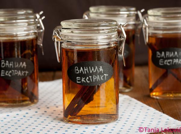 Vanila ekstrakt / Vanilla extract