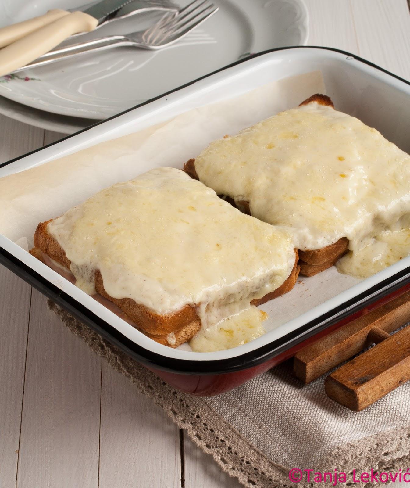 Francuski topli sendvič – Croque Monsieur