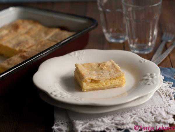 Pita od katmer kora / Old-fashioned cheese pie