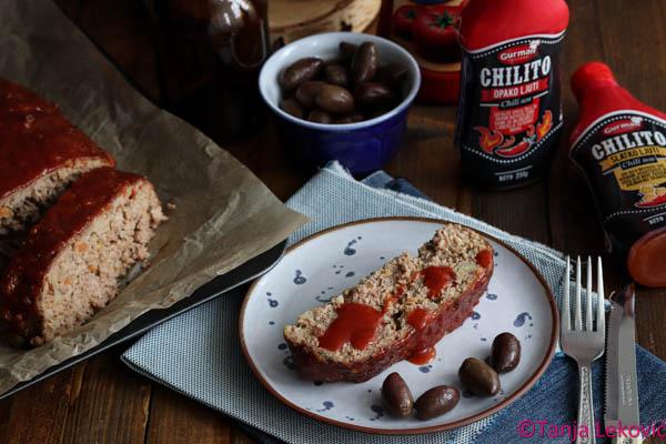 Gurmanska vekna / Gourmet meat loaf
