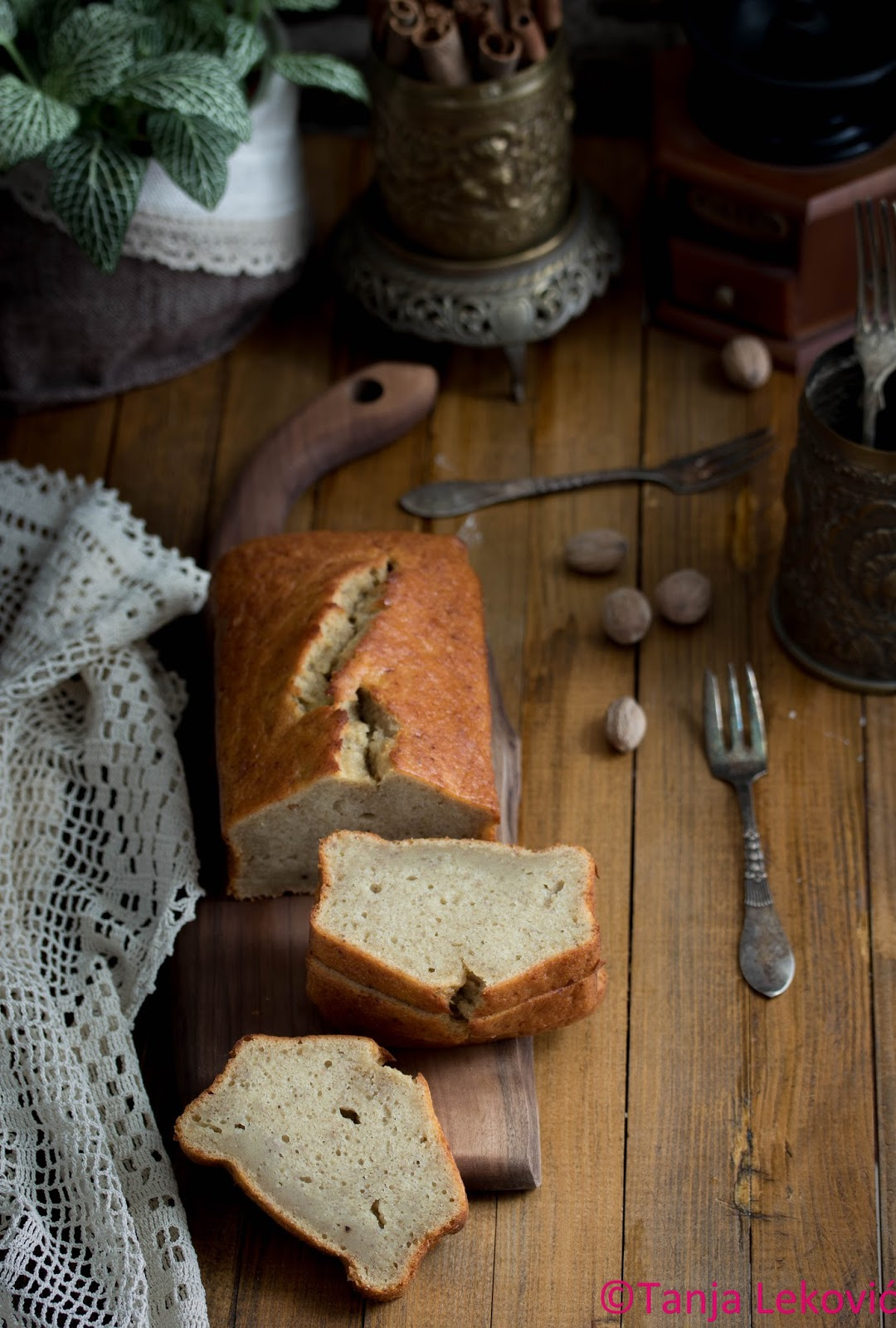 Kolač sa bananom II / Banana bread