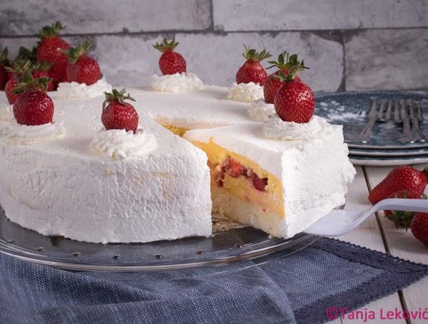 Torta sa jagodama / Strawberries cake