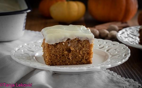 Obični kolač sa bundevom / Simple pumpkin cake