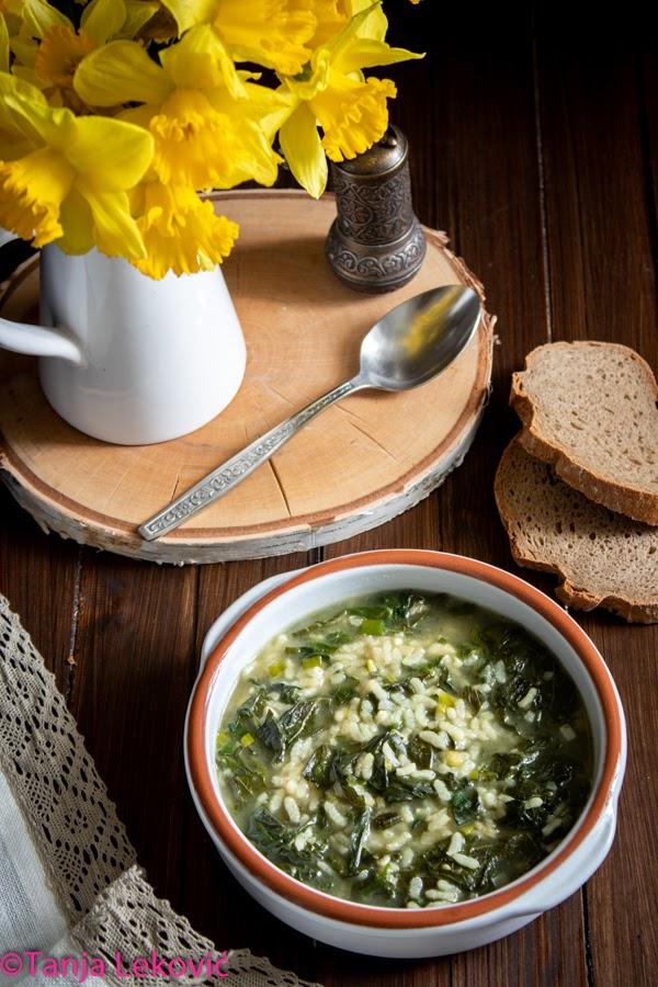 Čorba od zelja / Dock leaves soup