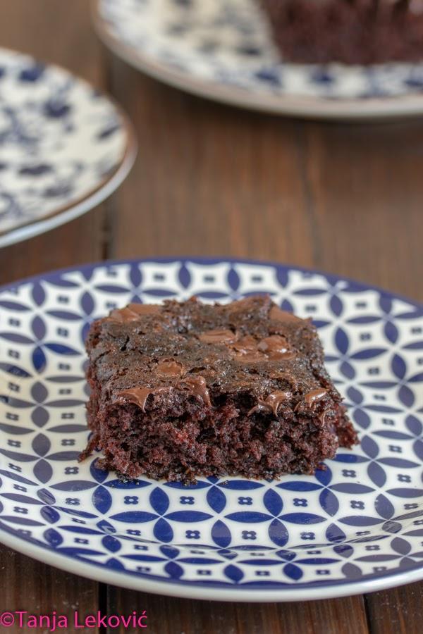 Posni brauni / Vegan brownies