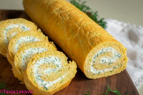 Rolat od tikvica / Zucchini savory roll