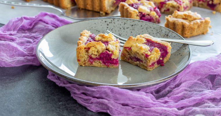 Prhki kolač sa višnjama / Sour cherries cake