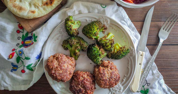 Faširane šnicle (i pečeni brokoli)