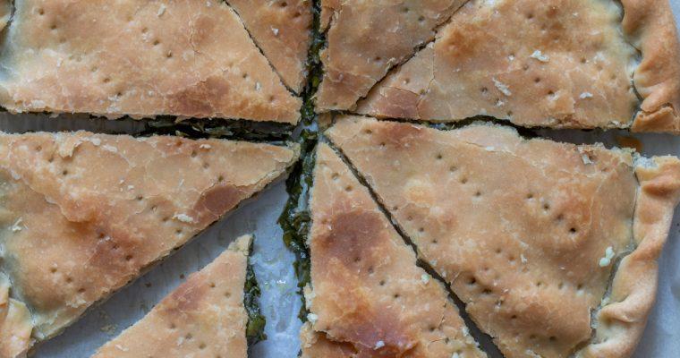 Soparnik, tradicionalna dalmatinska pita sa blitvom