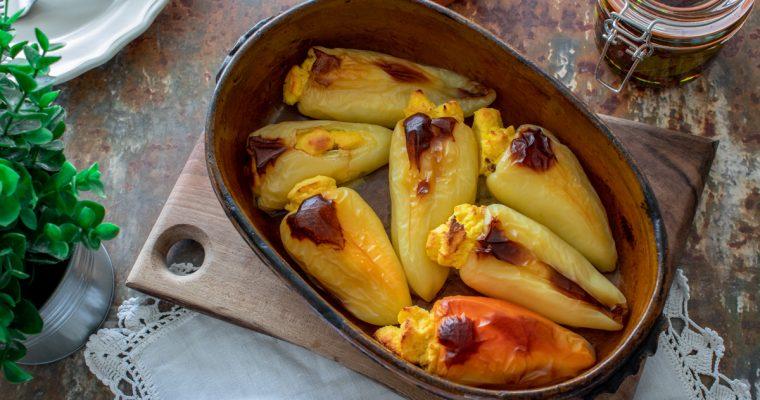 Paprike punjene sirom