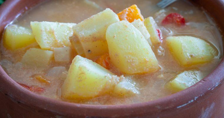Hilandarska krompir čorba sa tahinijem